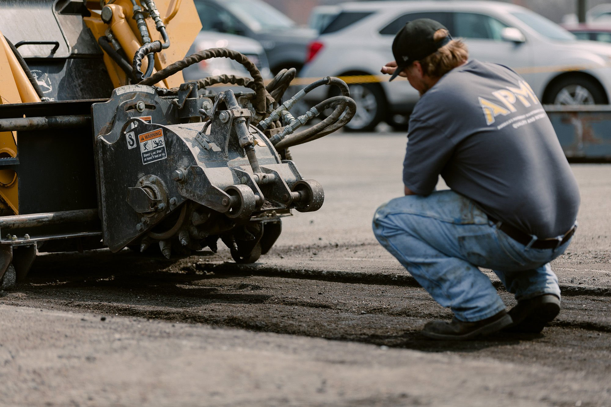 Lincoln Paving and Asphalt Repair apms 0604 - America's Pavement Maintenance Specialist | Lincoln, Nebraska