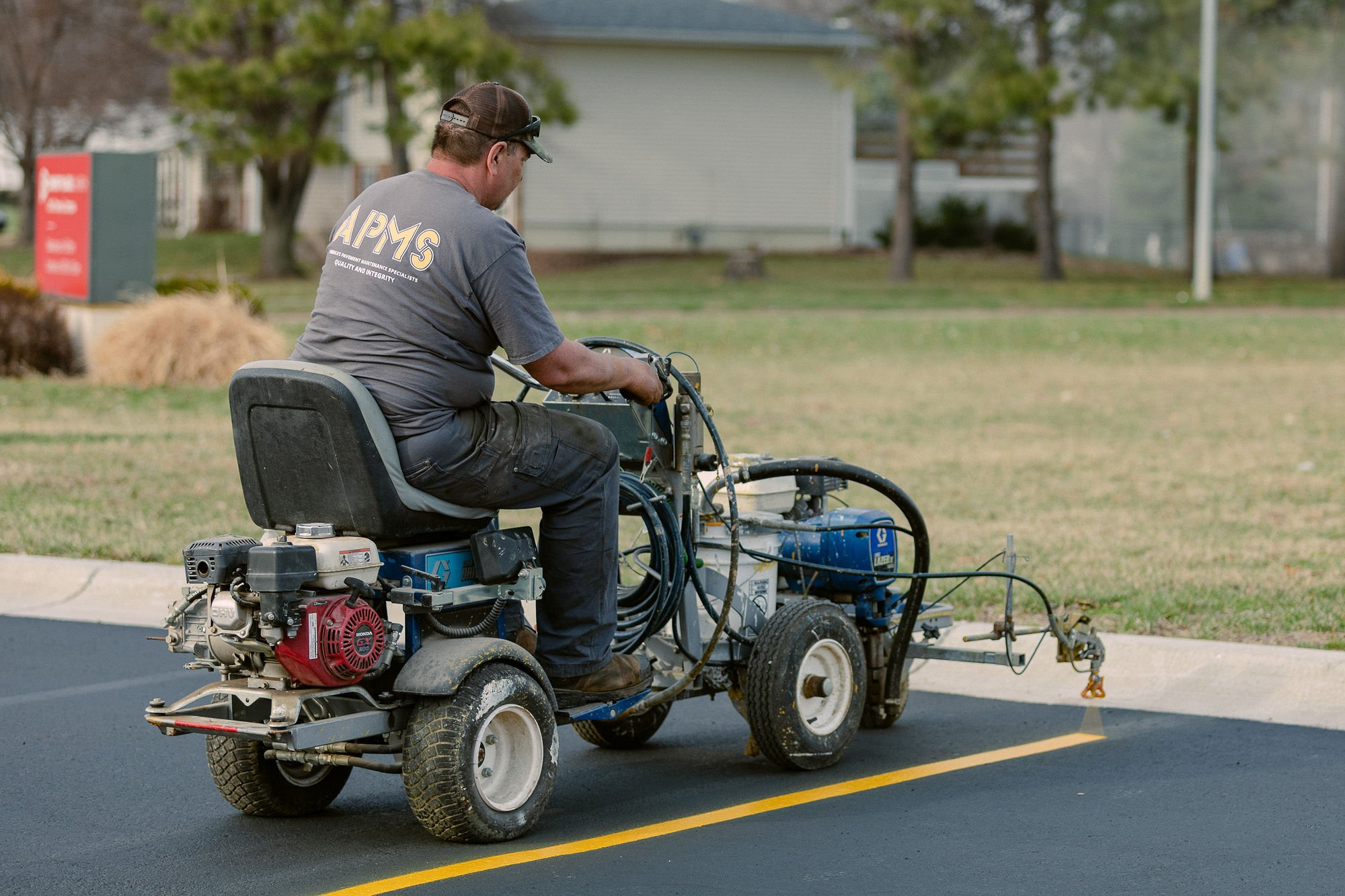 Lincoln Paving and Asphalt Repair apms 1292 - America's Pavement Maintenance Specialist | Lincoln, Nebraska